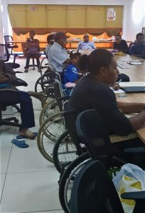 Inclusion of persons with disabilities into workshops to ensure that they are counted